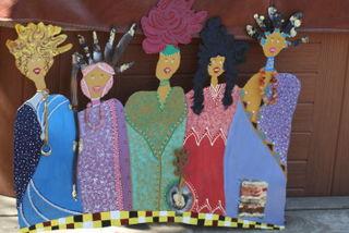 Painted Ladies-Fall 2008