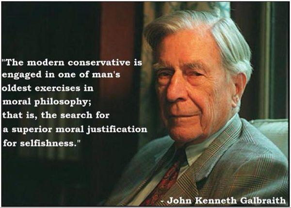 John kenneth galbraithe