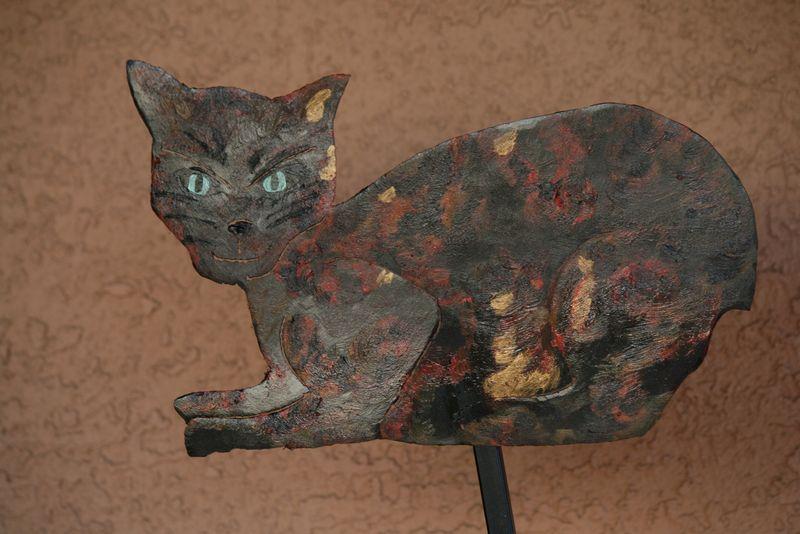 Orchids,Chicken,new cat metal art 020